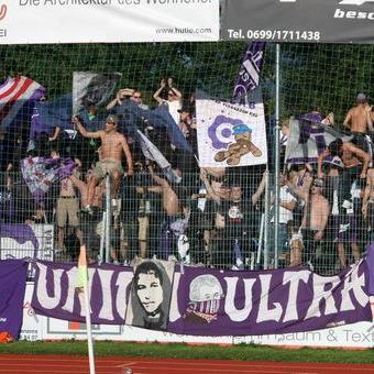 In Dornbirn verhielten sich die Austria Salzburg Fans professionell und vorbildlich.