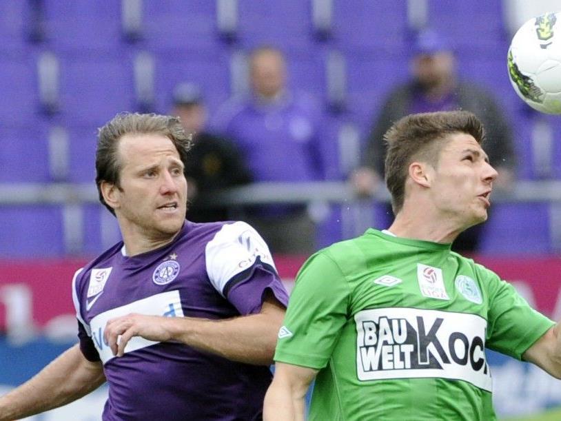 Wir brichten ab 16 Uhr vom Spiel SV Mattersburg gegen Austria Wien in unserem Live-Ticker.
