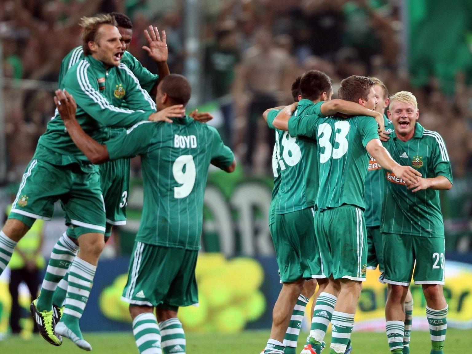 Bereits 20.700 Dreier-Abos wurden für die Europa League-Spiele von Rapid Wien abgesetzt.