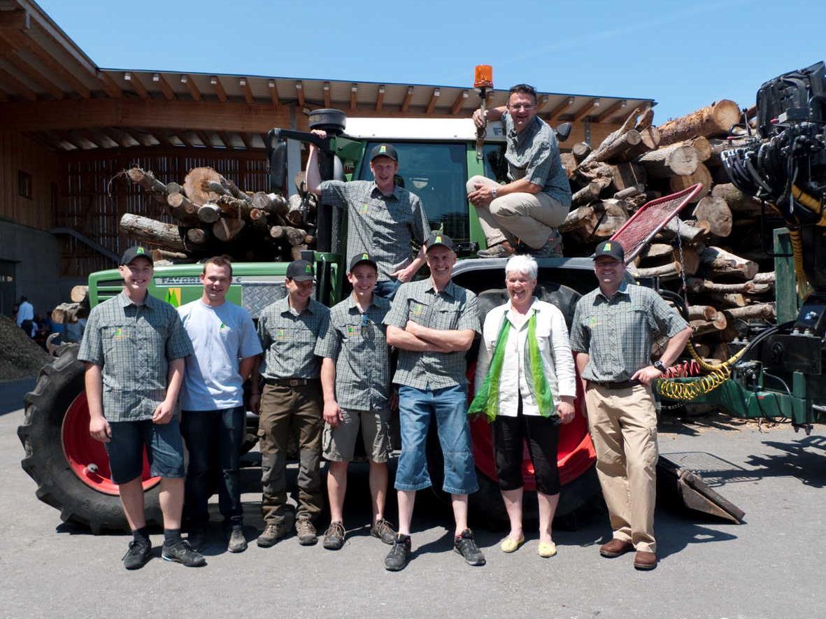 Die Agrargemeinschaft Nenzing lädt ein, hinter die Kulissen des Holzzentrums Galina zu blicken.