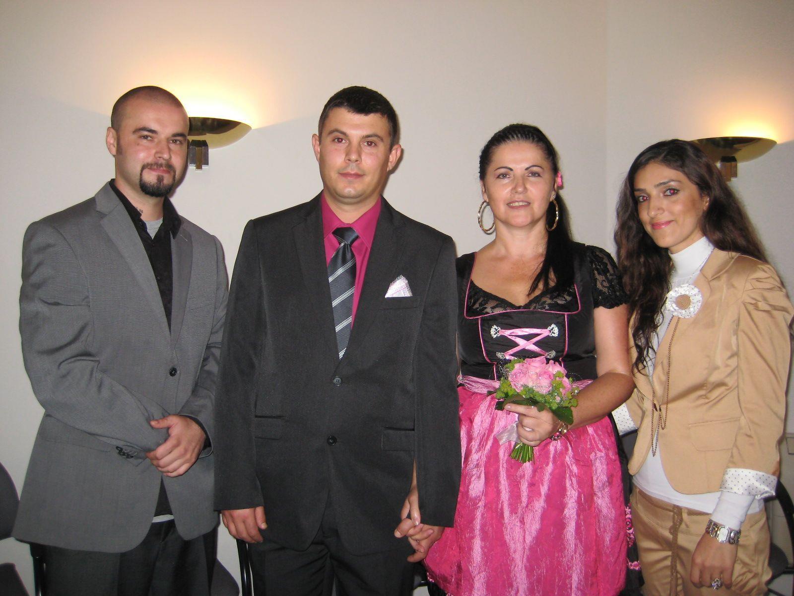 Angela Gugganig und Ruslan Mariniuc haben geheiratet.
