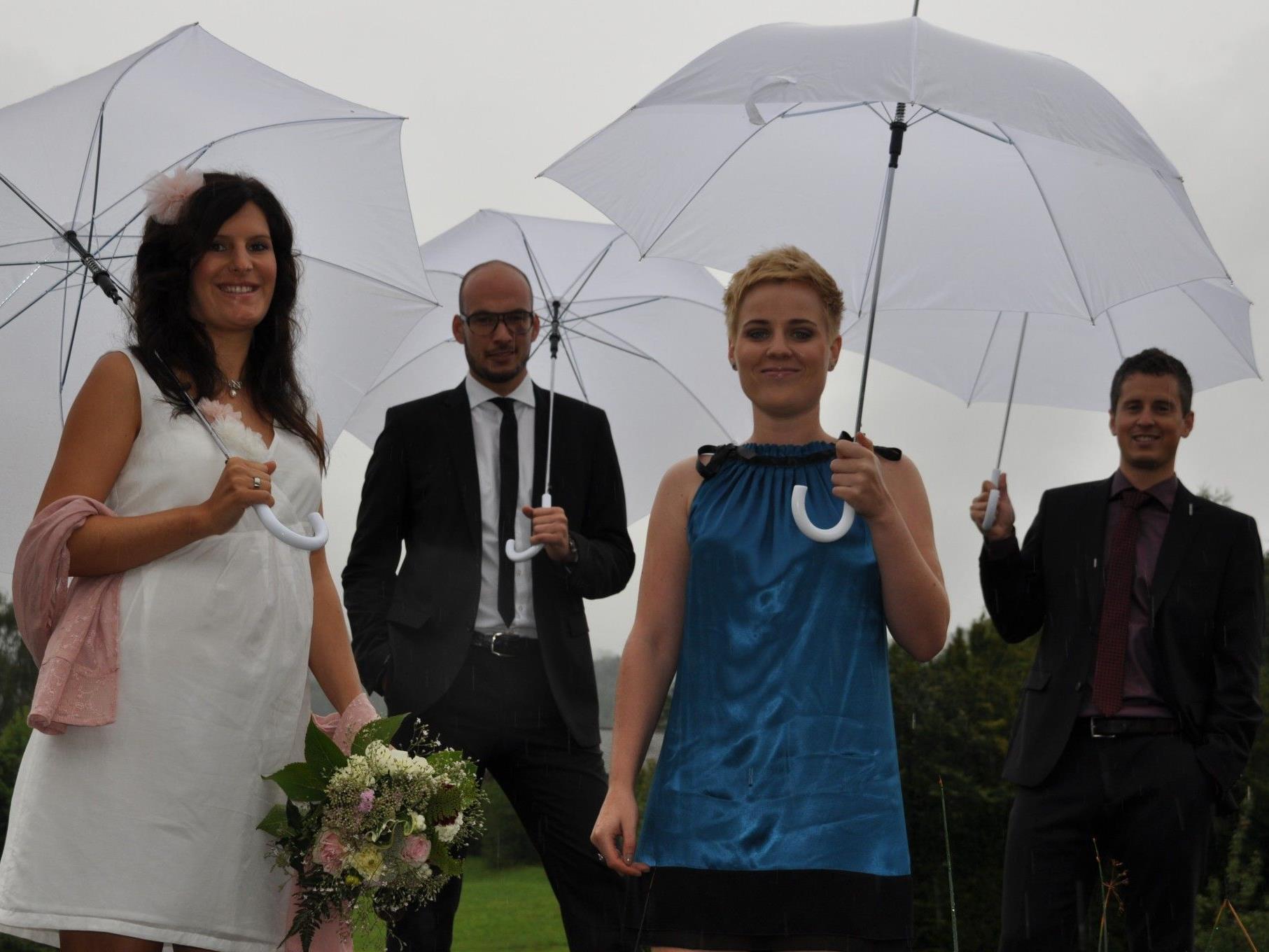 Nadine Gächter und Daniel Wehinger haben geheiratet.