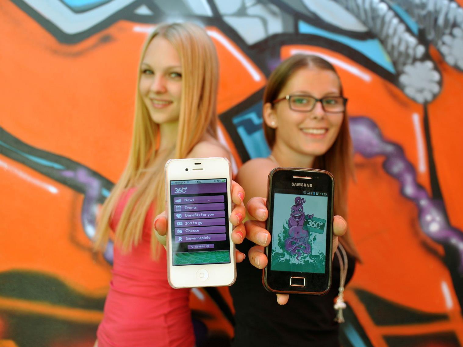 Mit der neuen 360-App ist die Vorarlberger Jugendkarte immer und überall dabei.