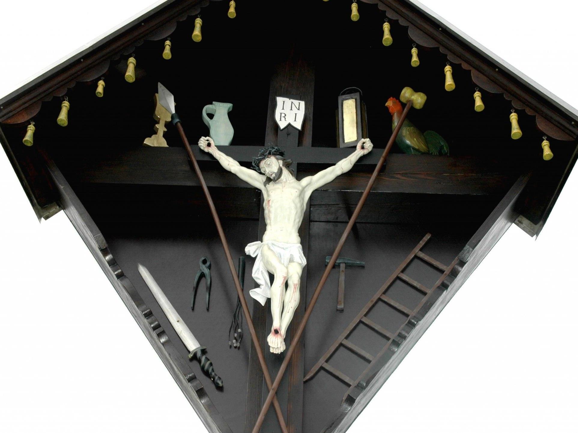 """Arma-Christi-Kreuz"" (Passionskreuz) in Hörbranz"