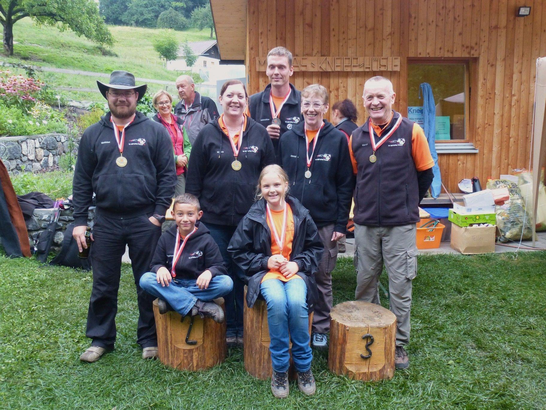 Am Samstag durften die Mitglieder des BC Wild Turkey Hunters Altach wieder jubeln!