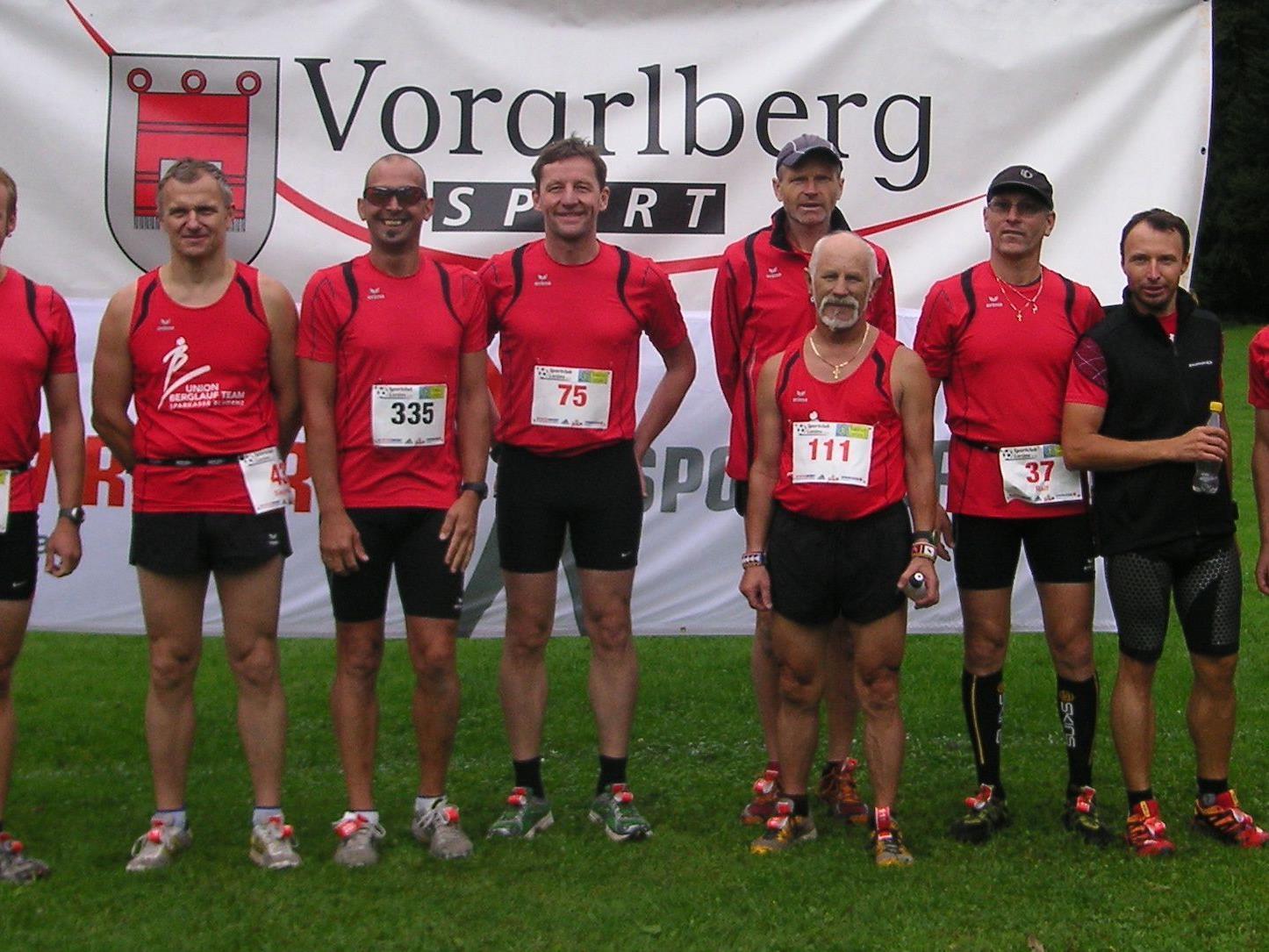 Die Bergläufer meisterten Matsch, Kies, Wiese und Wurzelwege mit beachtlichen Laufleistungen