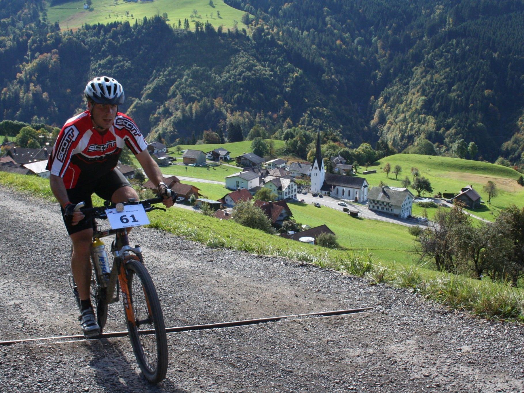 Den Teilnehmern wird beim Alpe Furx Race so einiges abverlangt.