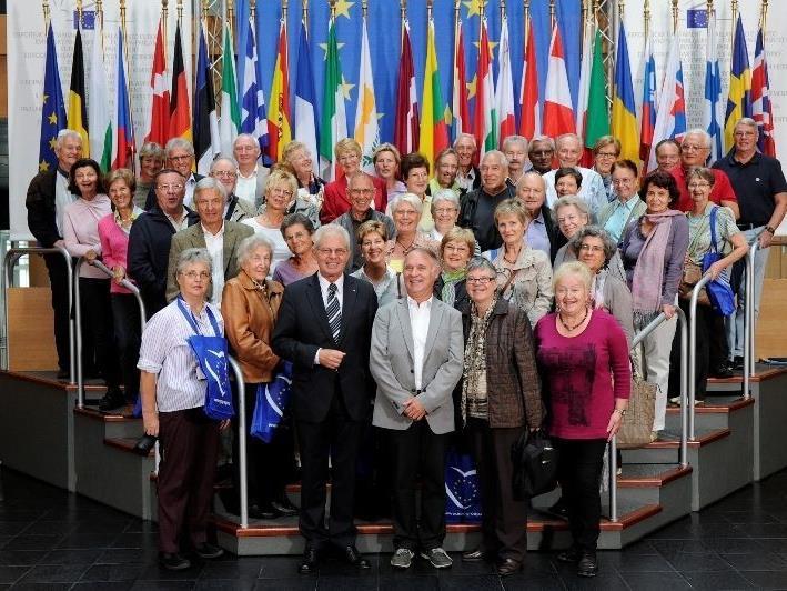 Der Seniorenbund Bregenz im Europaparlament