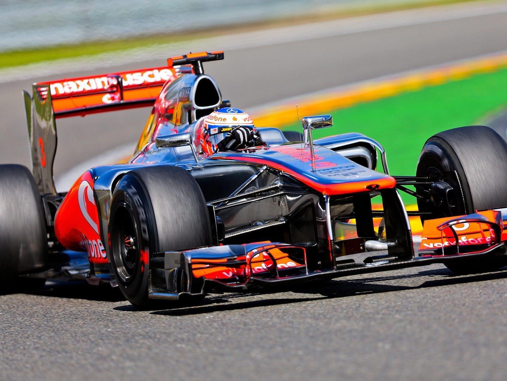 Jenson Button gewinnt in Spa sein zweites Rennen in dieser Saison.