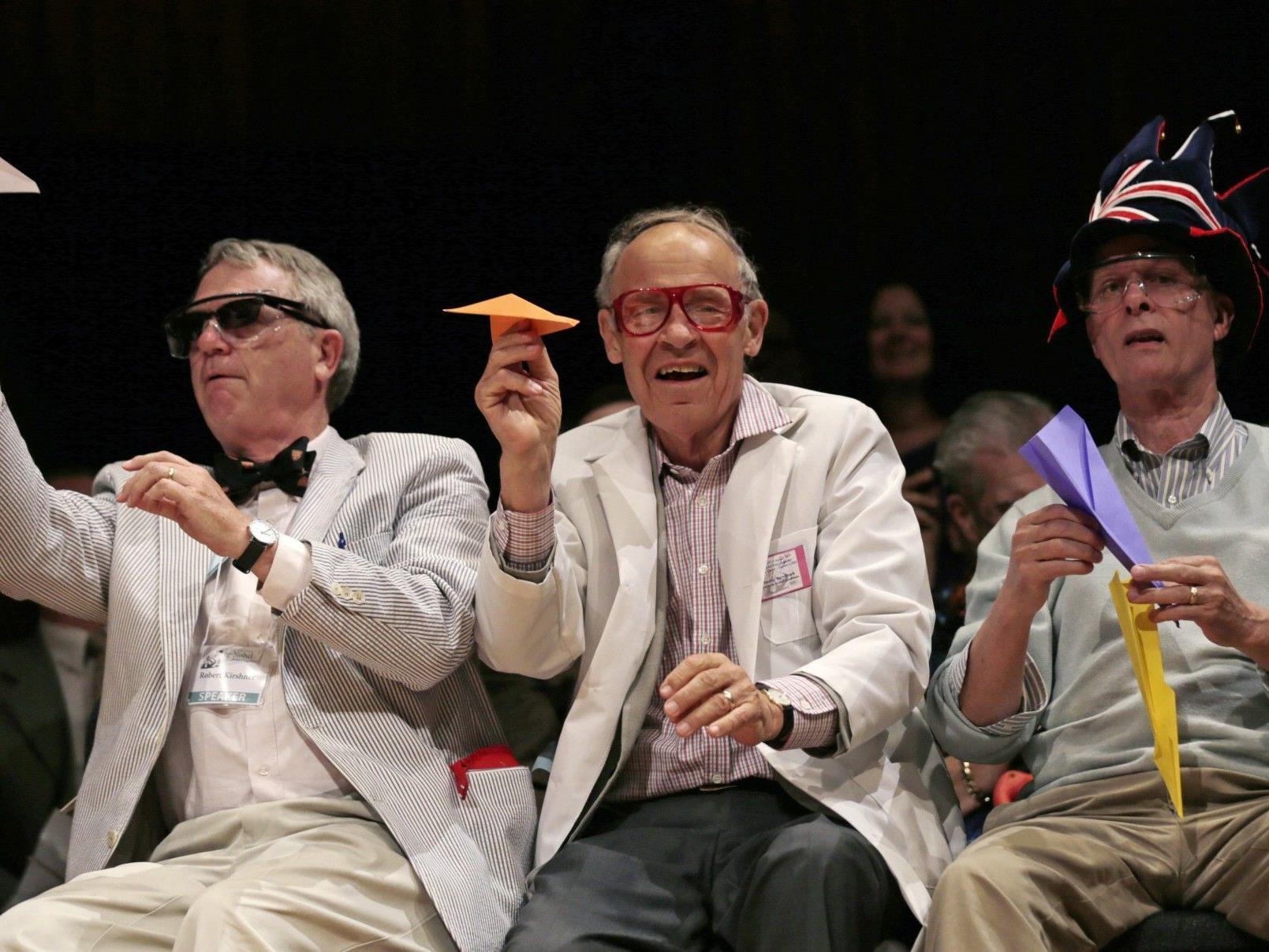 "Ig-Nobelpreis soll ""erst zum Lachen, dann zum Denken anregen""."