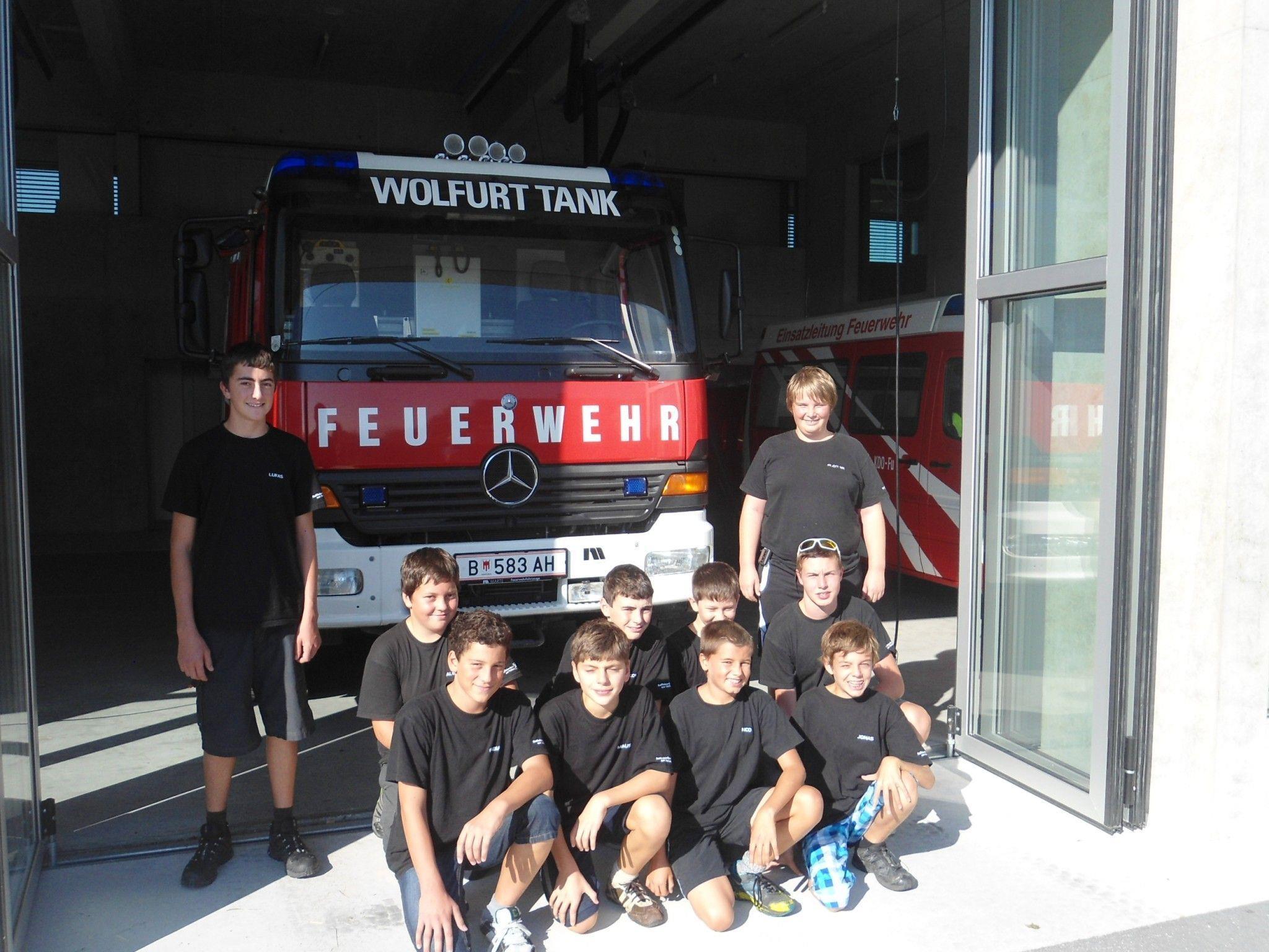 Feuerwehrjugend war 24 Stunden vor Ort