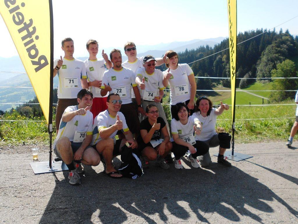 Die Läuferinnen und Läufer des Skiclub Damüls