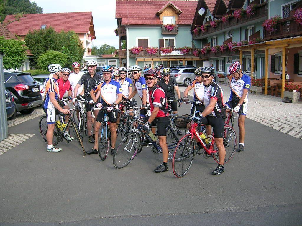 Die Radwoche des VSRV Mezler in der Steiermark war ein voller Erfolg.