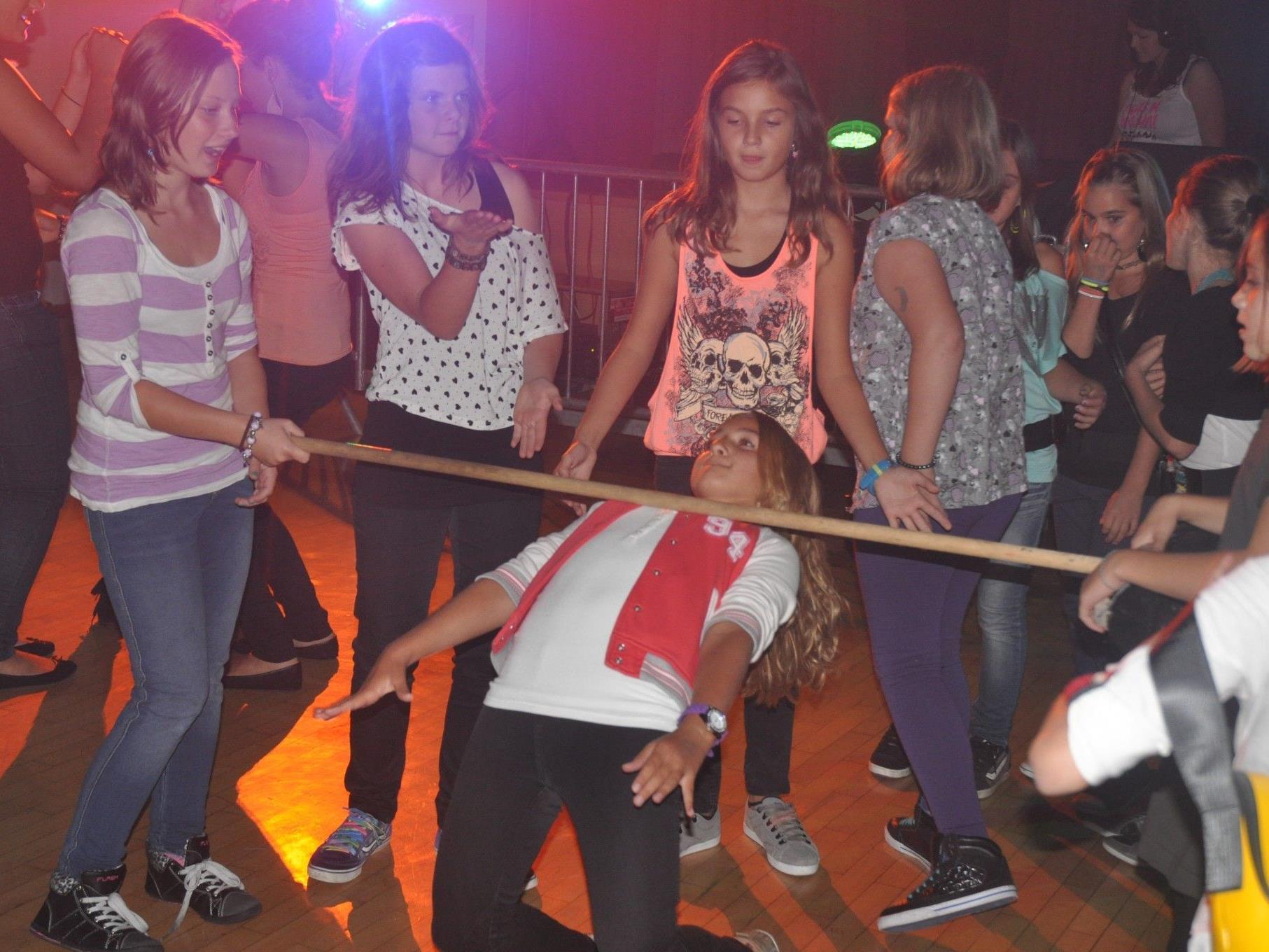 Tolle Stimmung bei der Schüler Disco in Weiler.