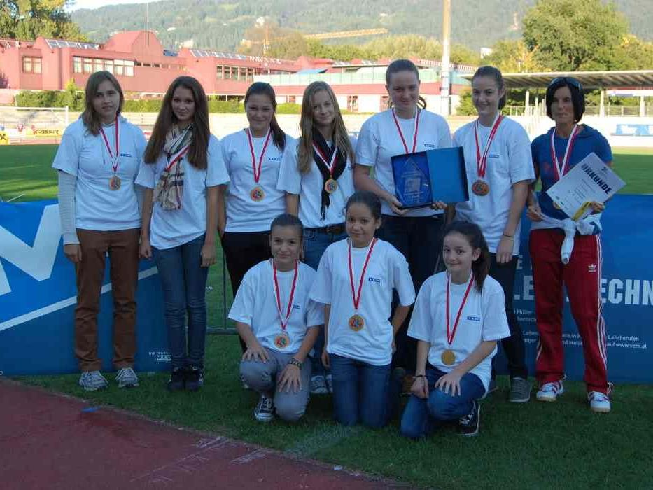 Die Vorarlberger Handballdamen freuten sich über ihren Sieg.