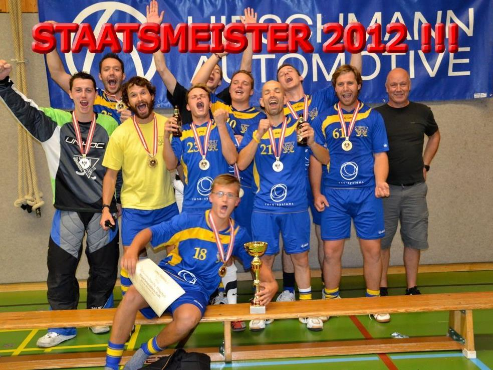 Staatsmeister 2012 - UHC Vikinger Götzis