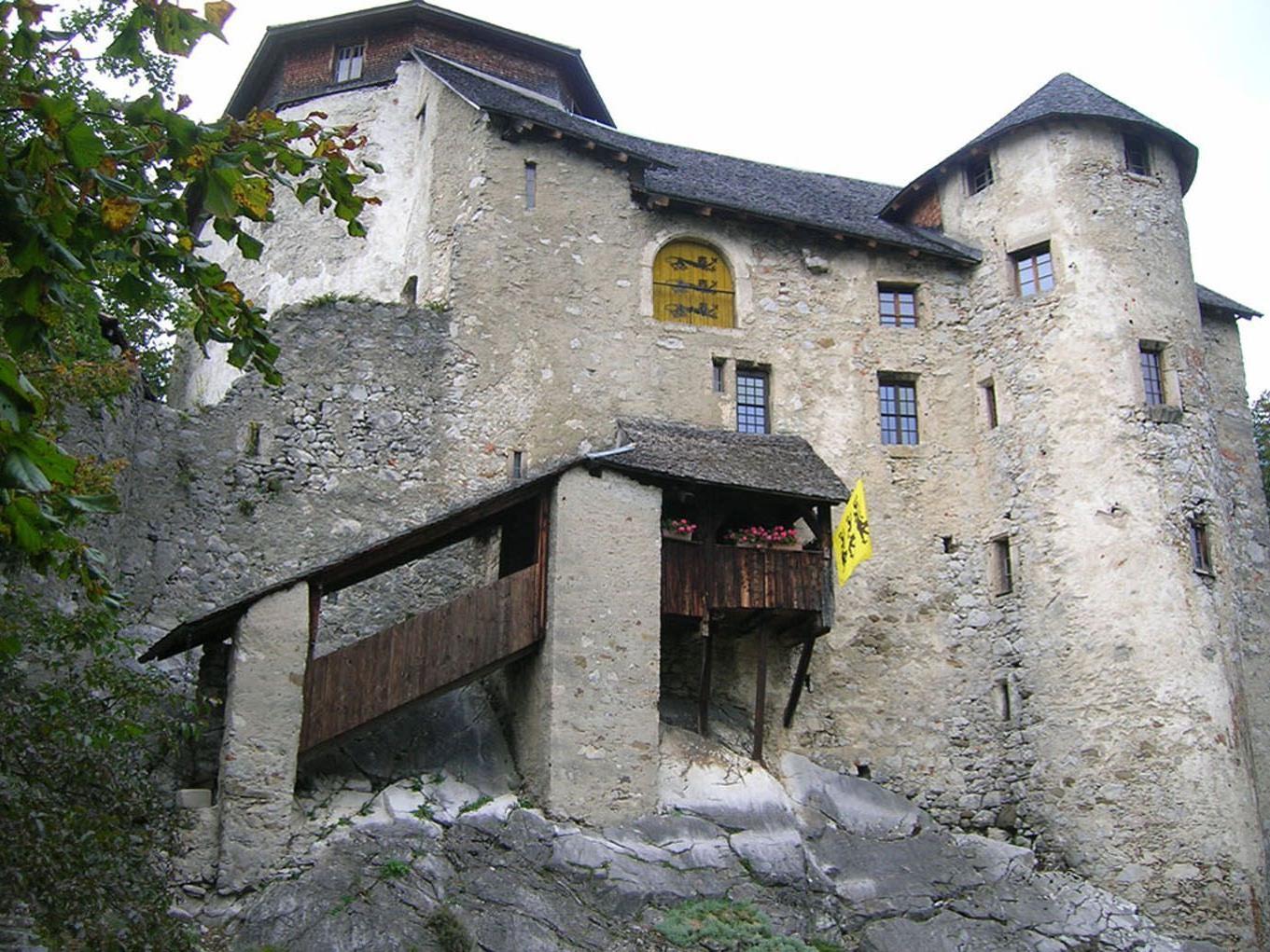 """Die Burg Neu-Ems (""""Schloss Glopper"""") ist auch eine Station beim Tag des Denkmals."""