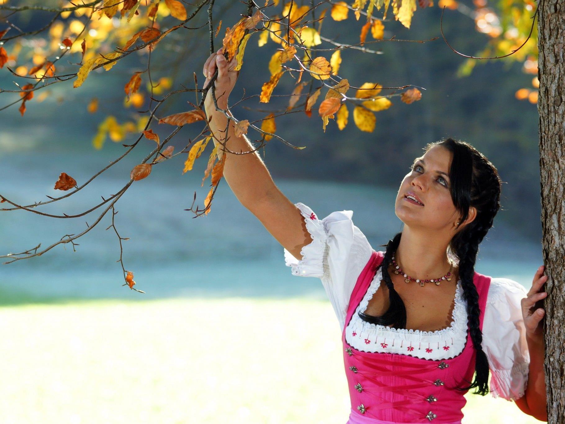 Dirndlmode ist in - nicht nur zur Oktoberfest-Zeit.
