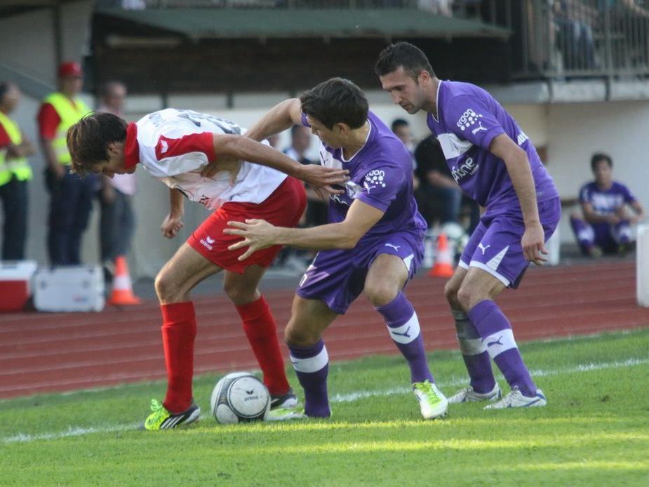 FC Dornbirn verlor gegen Spitzenreiter Austria Salzburg mit 0:3-Toren.
