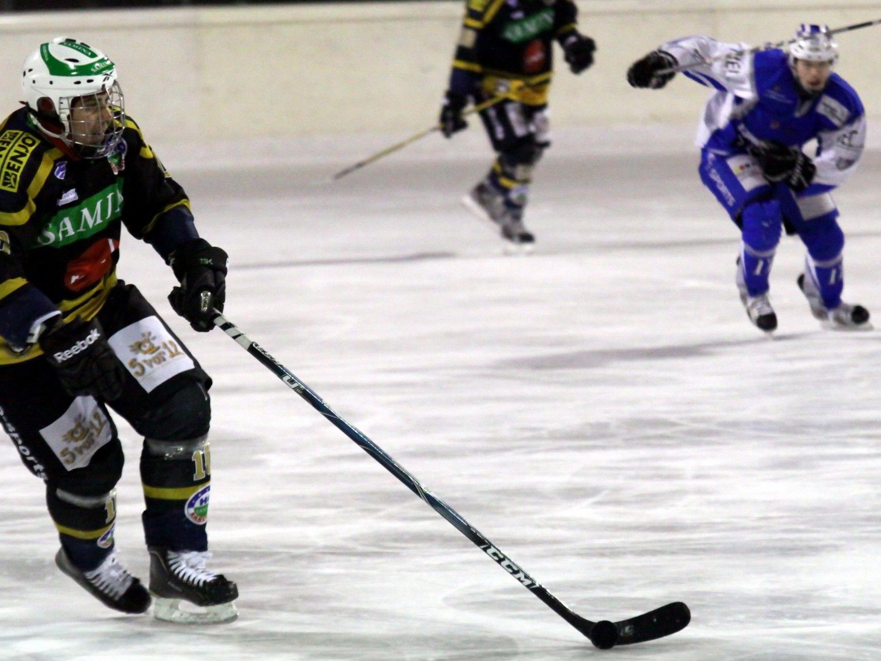 HC Samina Rankweil Spielertrainer Michal Kopas schoss ein Triplepack beim 7:5-Testsieg in Dübendorf.