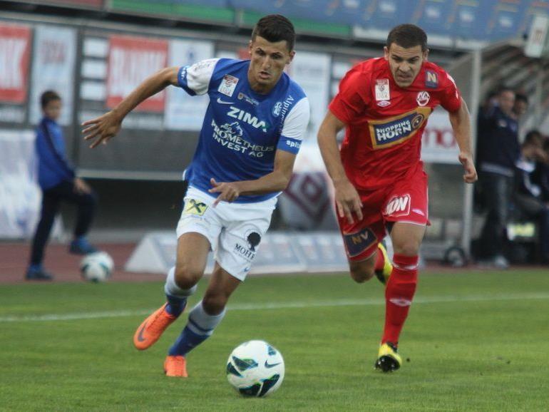 FC Lustenau empfängt zu Hause BL-Neuling WAC St. Andrä, Altach gastiert bei Rapid Wien.