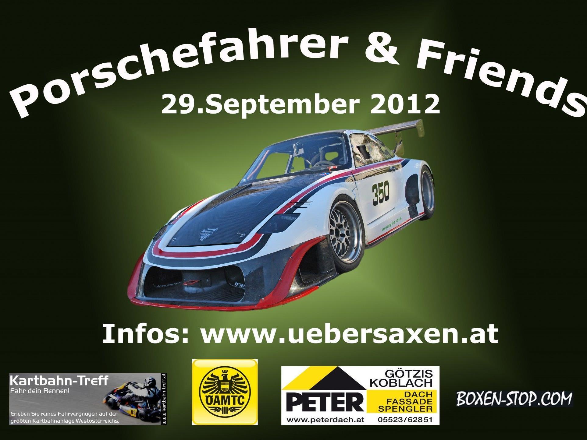 """Historische Rennfahrzeuge bei """"Porsche und Friends"""" am 29. September ab 14 Uhr in Übersaxen"""