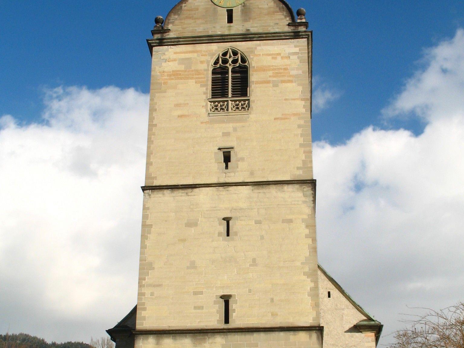 Pfarrkirche St. Gallus Bregenz. Startort für die Galluswanderung nach Rheineck.