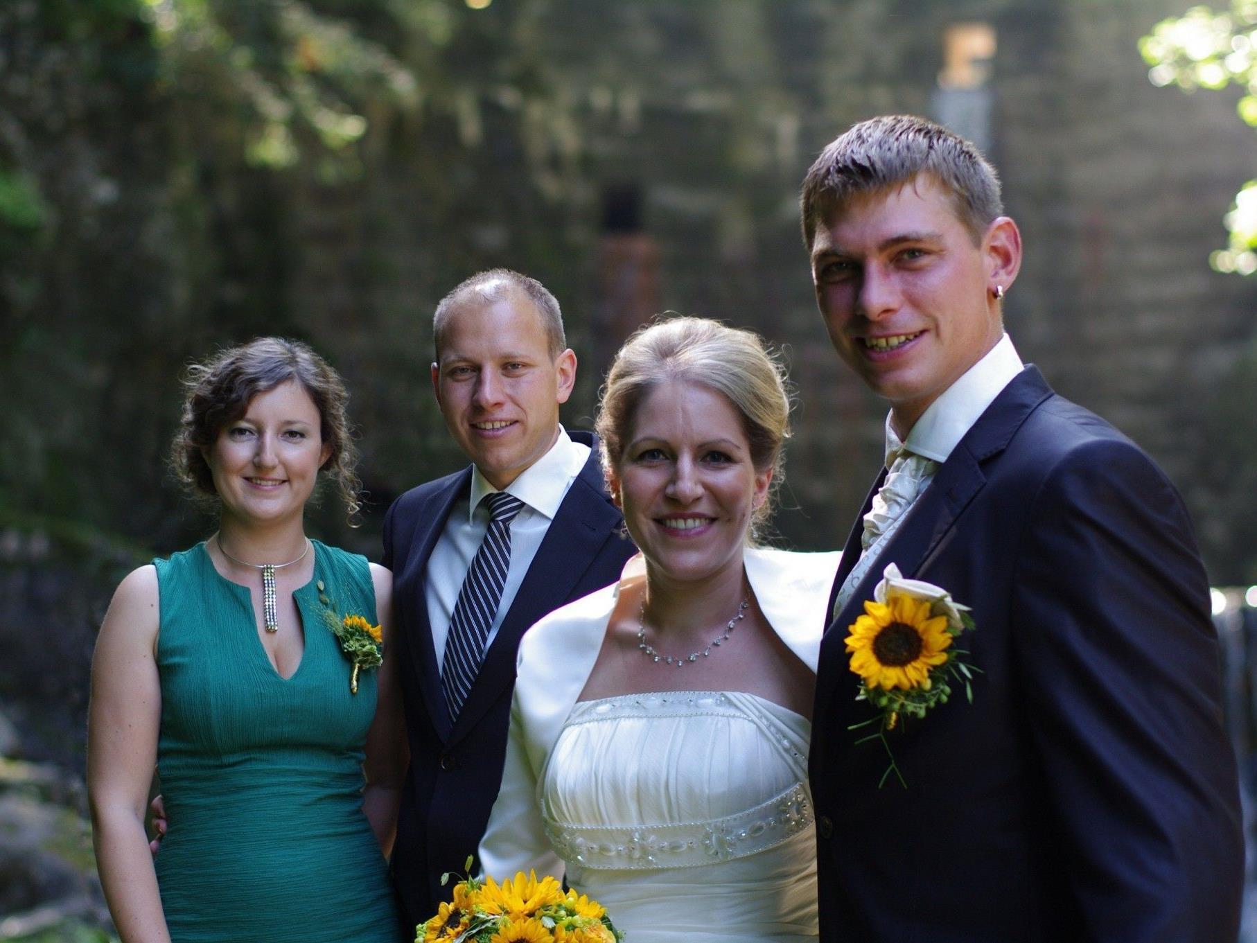 Angelika Marte und Rainer Büsel haben sich getraut.