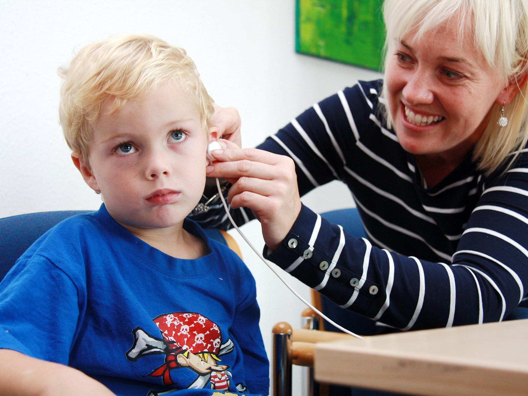 Das Seh- und Hörscreening kann nun schon bei vierjährigen Kindern durchgeführt werden.