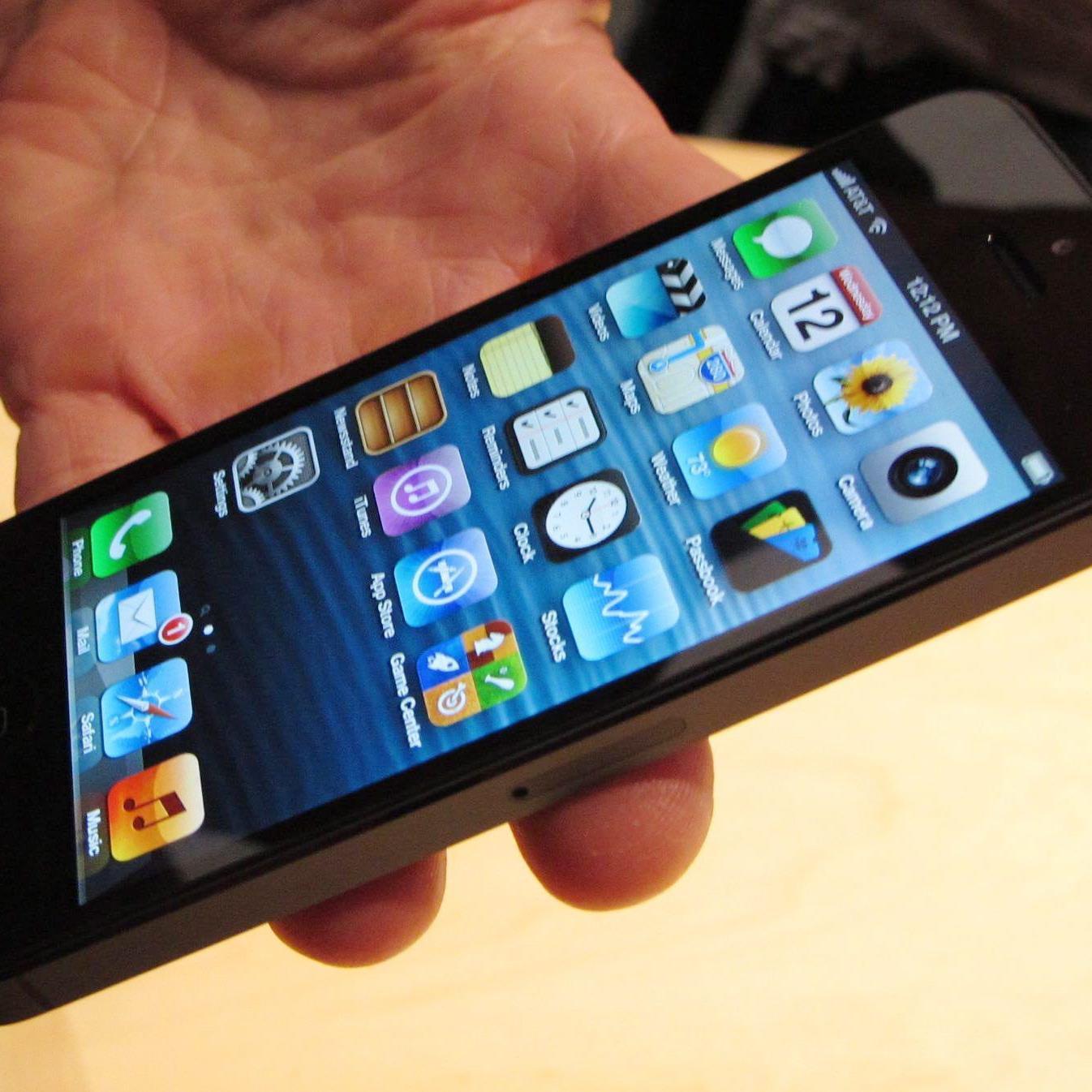 Das neue iPhone5.