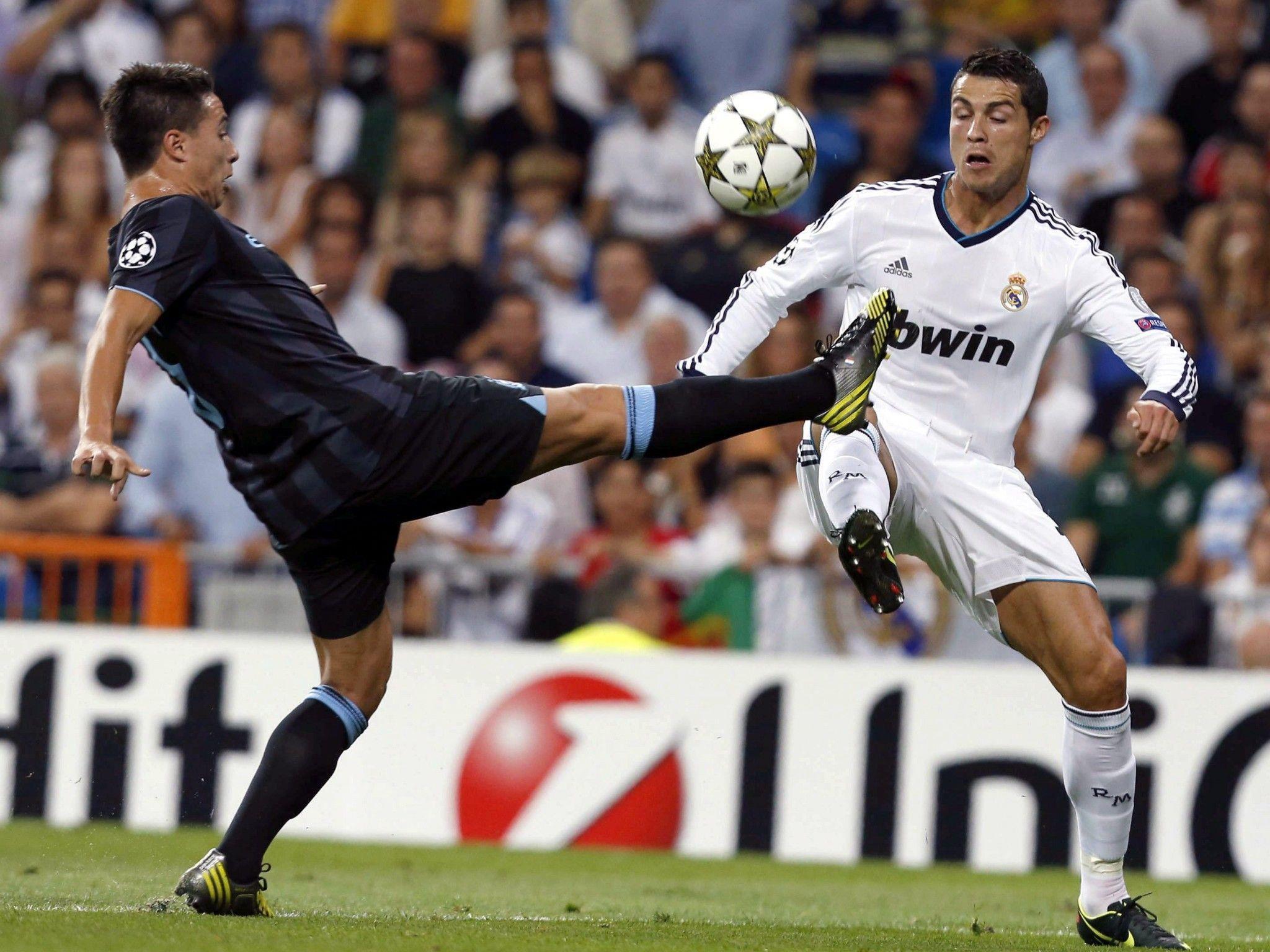 3:2 - Cristiano Ronaldo schoss kurz vor Schluss das Siegestor gegen ManCity.