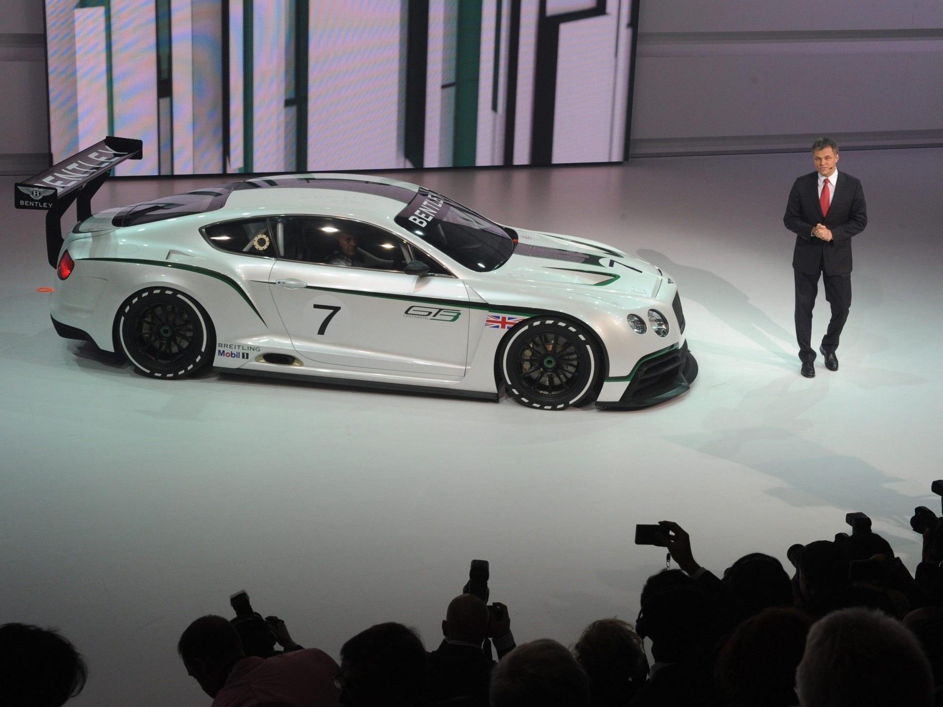 Bentley GT3 vorgestellt
