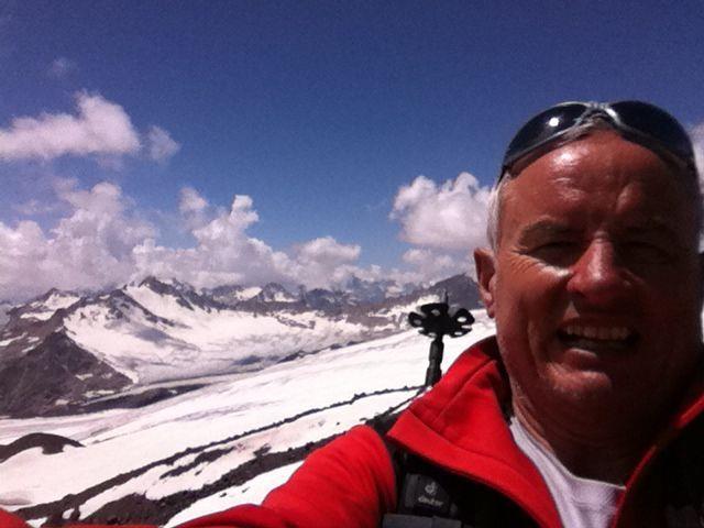 Franz Lutz hat sich zum Ziel gesetzt, 111 Berggipfel für einen guten Zweck zu besteigen