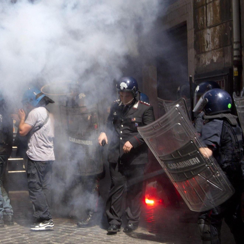 Auch in Italien greift die Krise um sich.