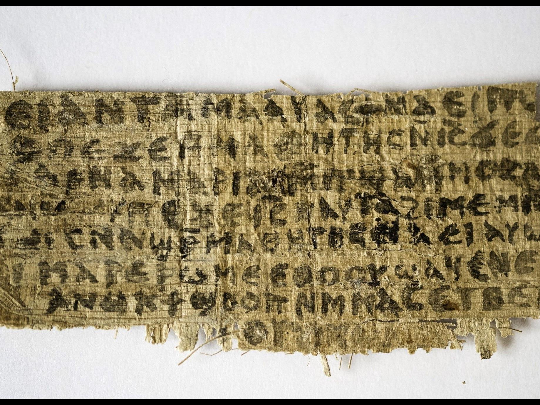 Antikes Schriftstück fördert die Vermutung Jesus war verheiratet.