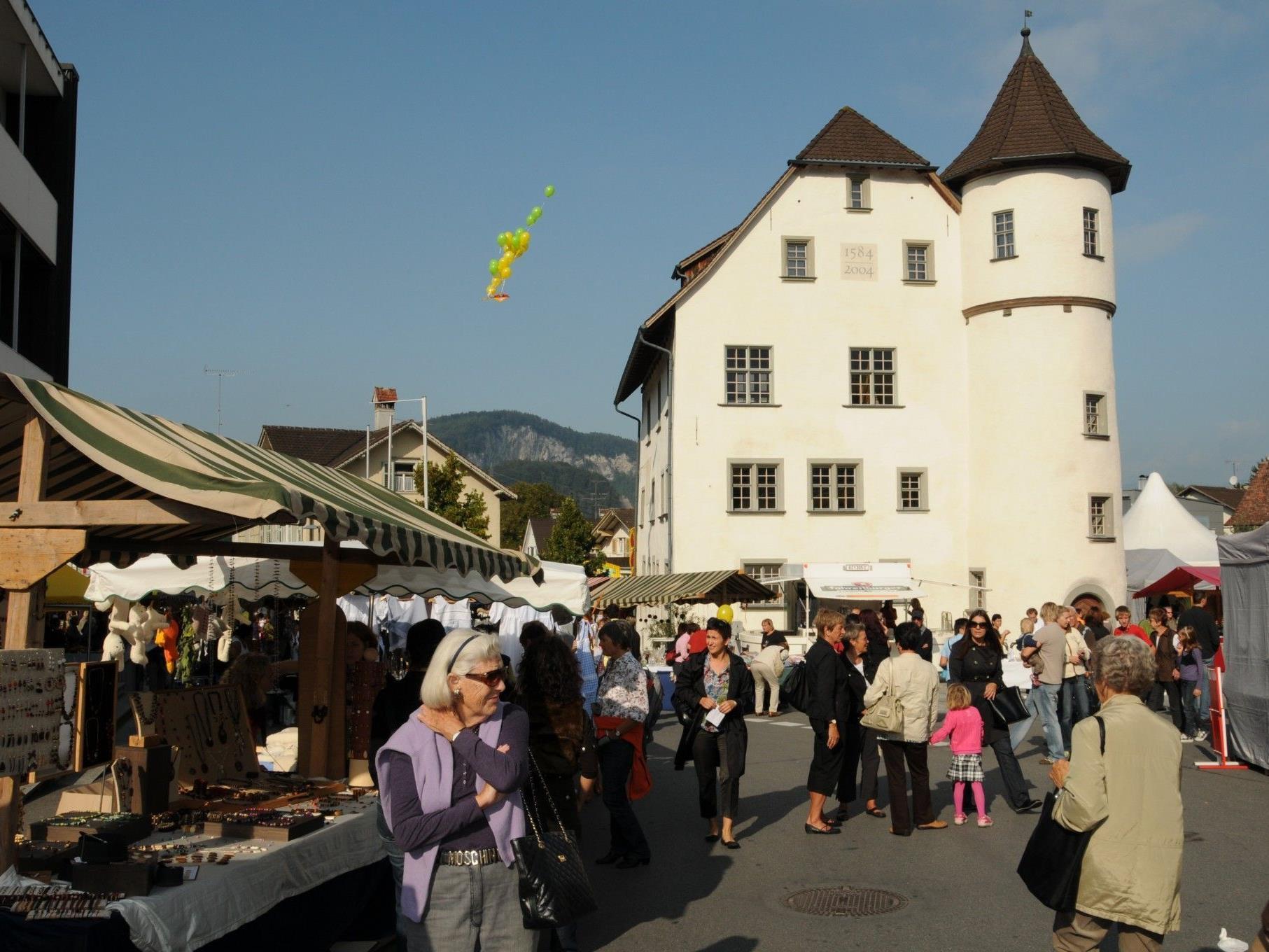 Der traditionelle Jonas Markt im Herzen von Götzis stellt auch dieses Jahr wieder ein Herbst-Highlight dar