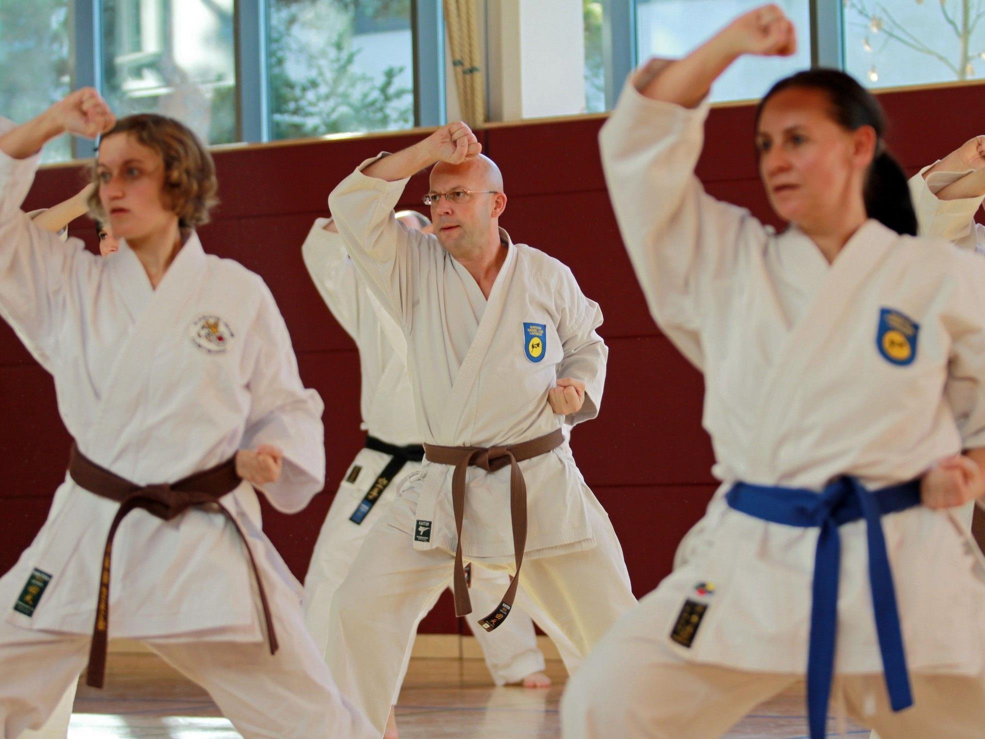 Einsteigerkurs zum Karate beginnt diese Woche in Lauterach.
