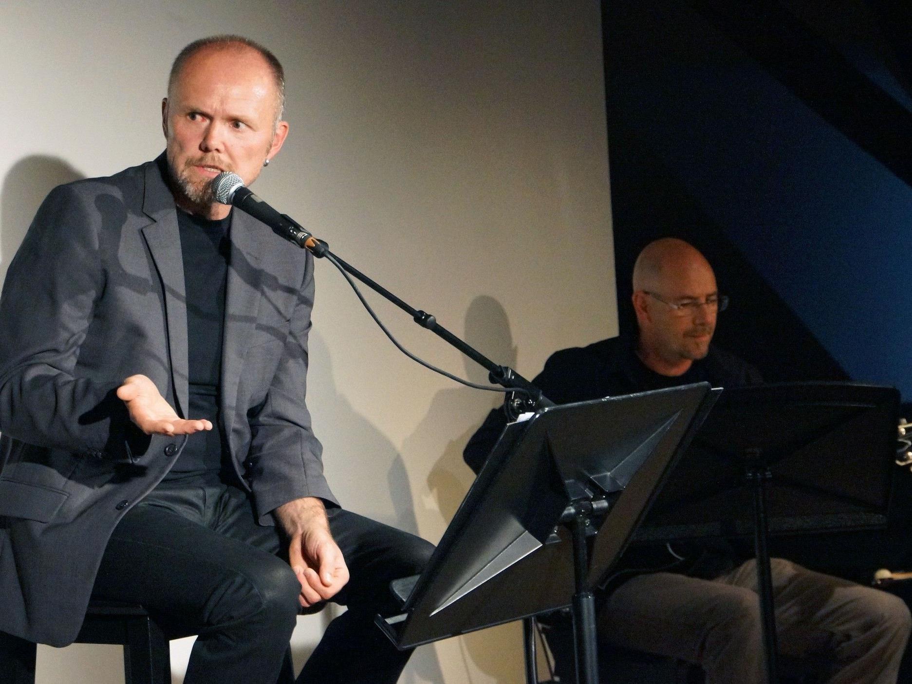 """""""Der alte König in seinem Exil"""" als Erzähltheater in Hittisau."""