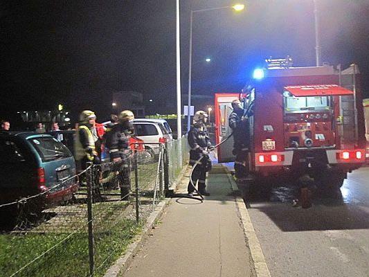 Die Feuerwehr konnte den Küchenbrand in Höchst rasch löschen.