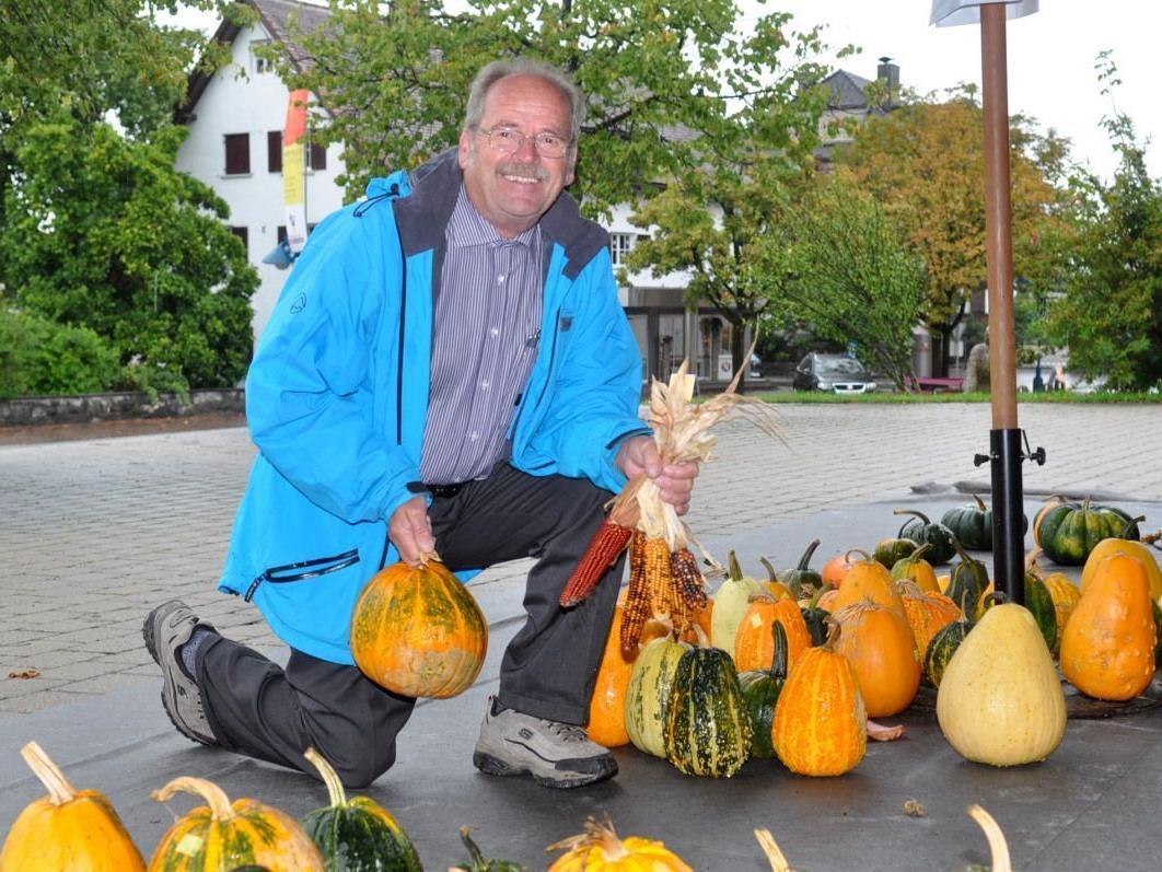 Eine gute Gelegenheit für den Erwerb von kostengünstigen Kürbissen bietet der Kürbismarkt am 22. und 23. September in Altach.