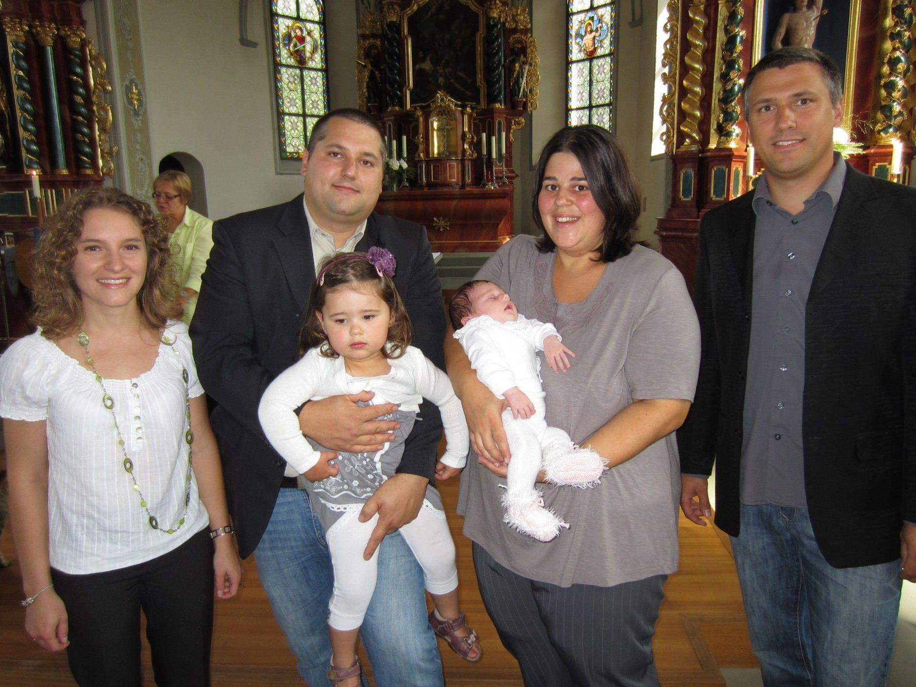 Julia Mayer wurde getauft.