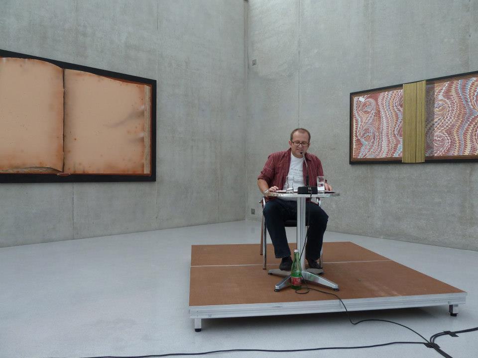 Philipp Horatschek liest im Kunsthaus