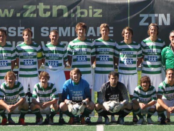 Erster Sieg für den SV Gaschurn in der Saison 2012-13