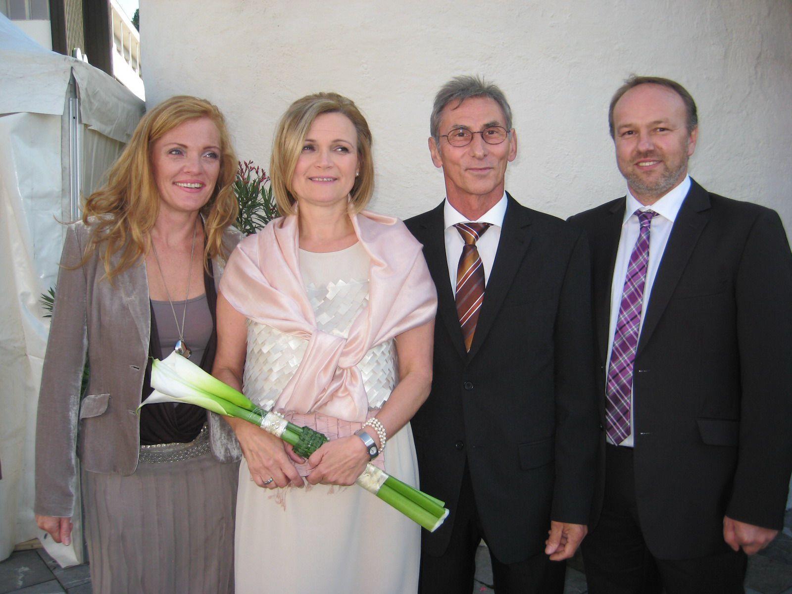 Rosemarie Herzog und Franz Fink haben geheiratet.