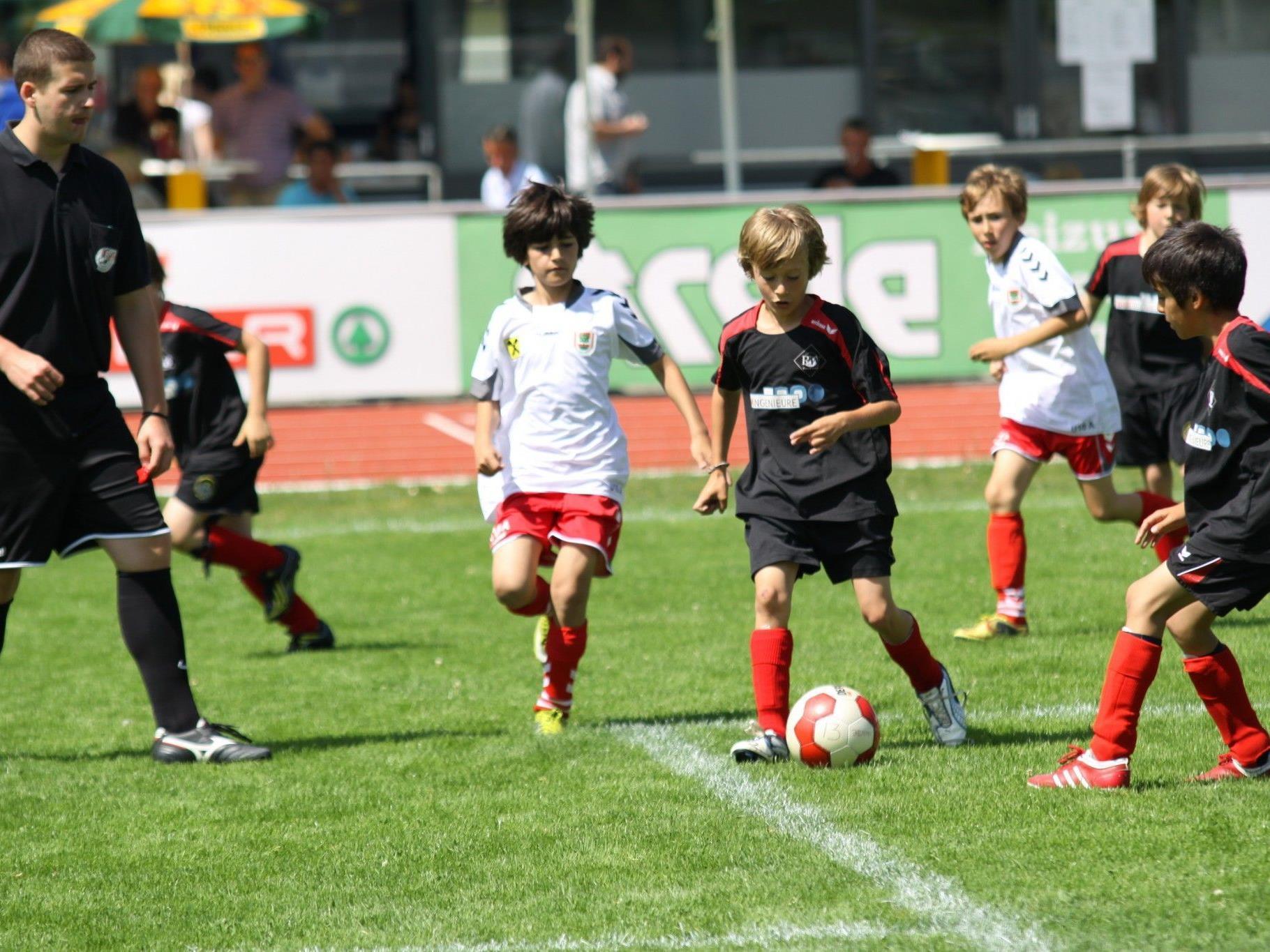 Erfolgeiche Nachwuchsabteilung und eine der größten im Land: FC Mohren Dornbirn.