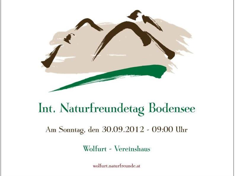 Internationaler Naturfreundetag Bodensee