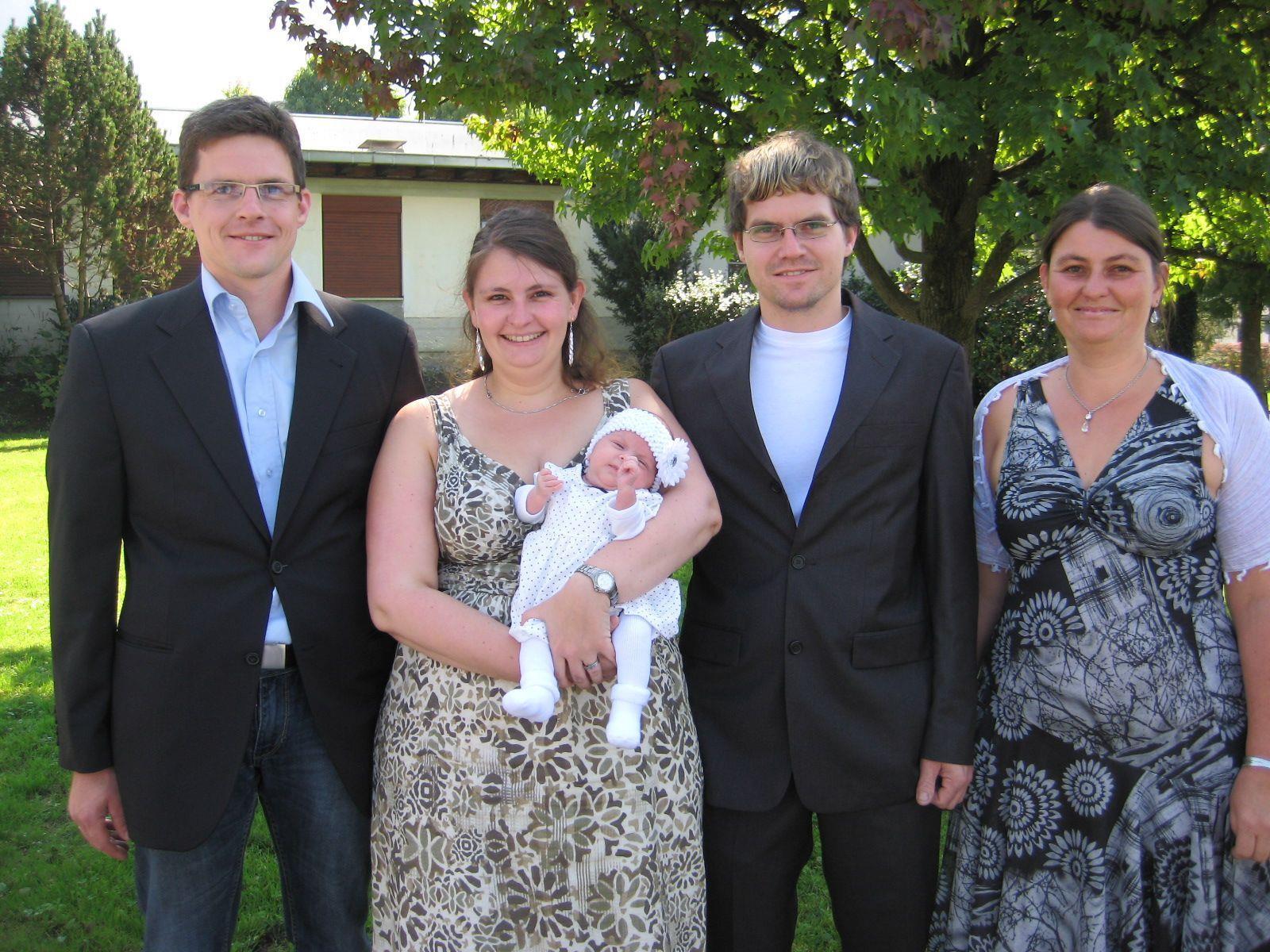 Nora Linder wurde getauft.
