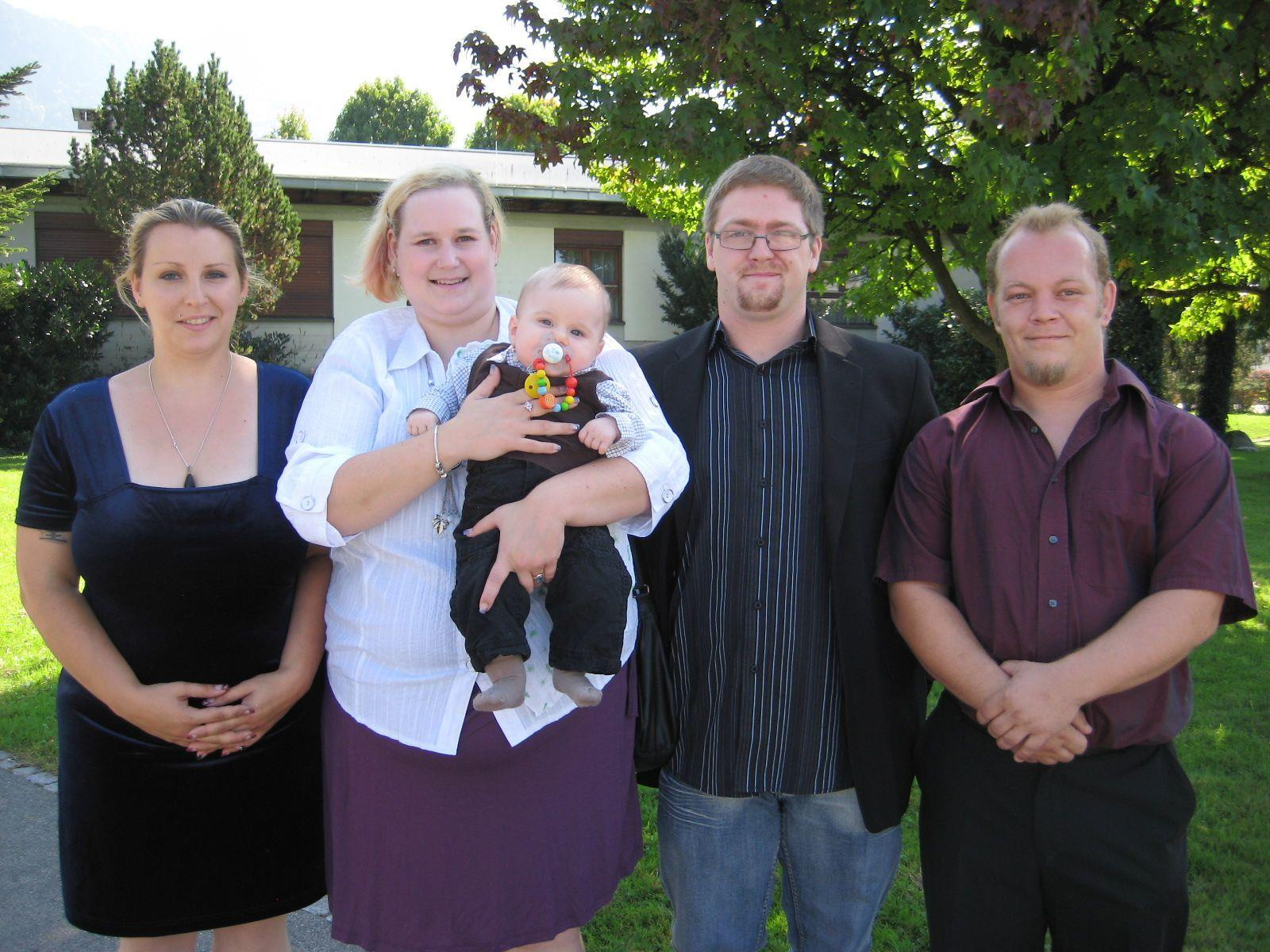 Tobias Frick wurde getauft.