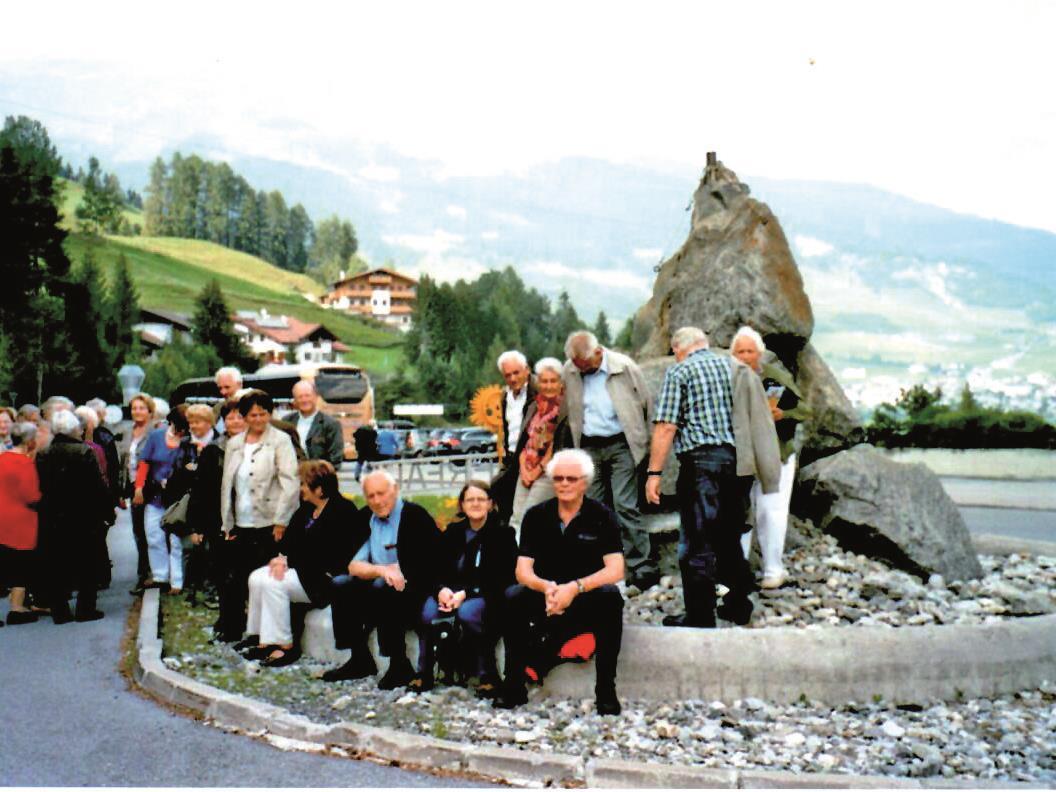 Die Seniorenbundmitglieder genossen die schöne Herbstausfahrt