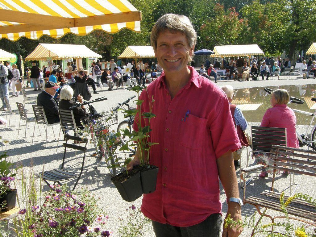 Auch Bio-Gärtner waren vertreten
